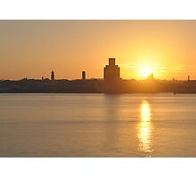 SUNSET ON THE WIRRAL Photographic Print
