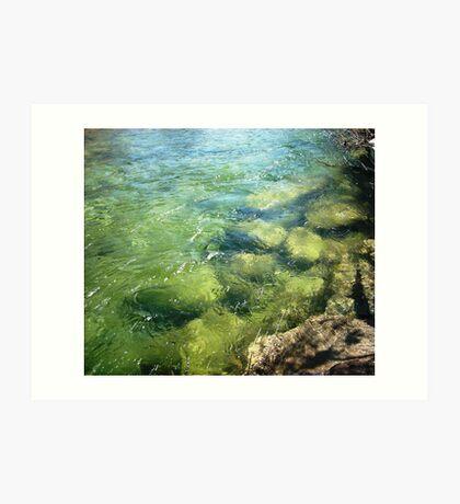 Waters of Peace Art Print