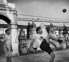 Kataw Game - Savannakhet, Laos by Alex Zuccarelli