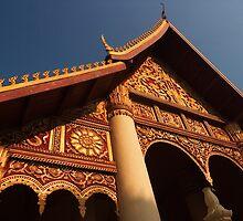 Wat Xieng Nyean - Vientiane, Laos by Alex Zuccarelli