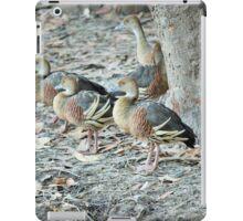 plumed whistling-ducks iPad Case/Skin