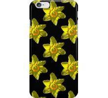 Daffodil on Black iPhone Case/Skin