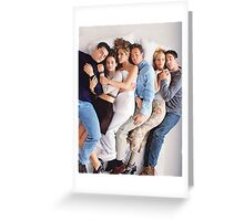 Friends Cast Greeting Card