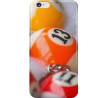 Pool Ball Fun  iPhone Case/Skin