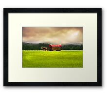 Day in the Field Framed Print