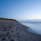 Ballynaclash beach at dawn by Ian Middleton