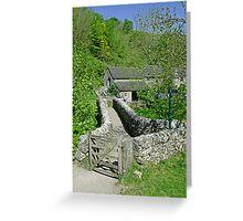 Viator's Bridge, Milldale Greeting Card