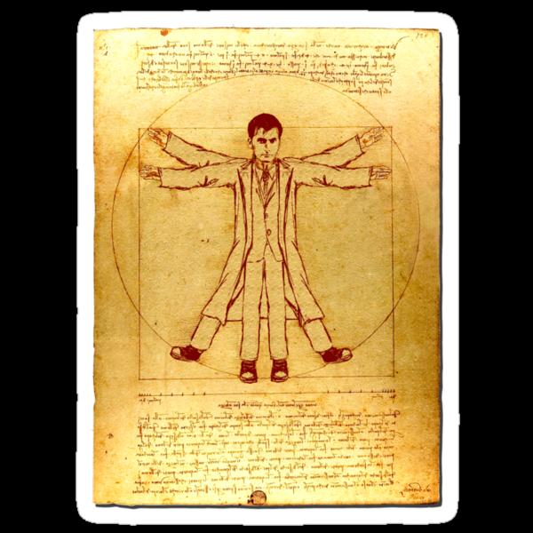 Da Vinci's Vitruvian Timelord by Brian Edwards