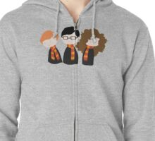 The Troublesome Trio Zipped Hoodie