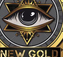 New Gold Order Sticker