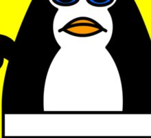 sumo penguin Sticker