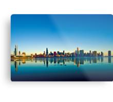 Chicago skyline at sunrise. Metal Print