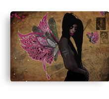 The Dark Fey  Canvas Print