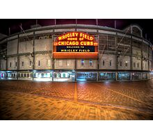 Wrigley Field Photographic Print