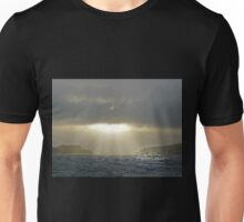 Lone Fishing Boat Unisex T-Shirt