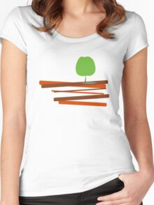 My Apple Tree Women's Fitted Scoop T-Shirt