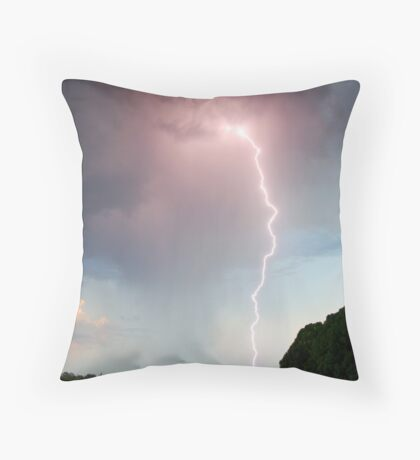'Bolt from the Blue' Throw Pillow
