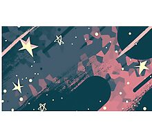Steven Universe, Space and stars Photographic Print