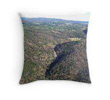 Beechworth Gorge Throw Pillow