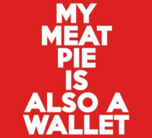 My meat pie is also a wallet Kids Clothes