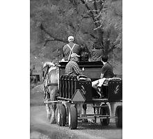 Wagon Ride Photographic Print