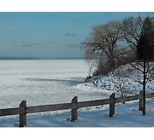 Winter on Lake Ontario Photographic Print