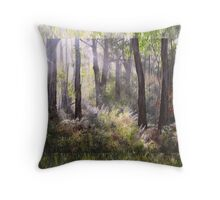At the Border of Light Throw Pillow