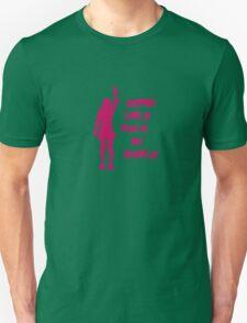 Derby Girls Rock My World (pink) Unisex T-Shirt
