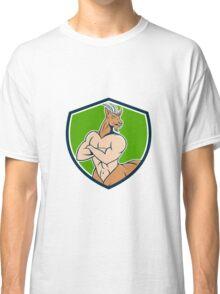 Pan Faun Satyr Crest Cartoon Classic T-Shirt