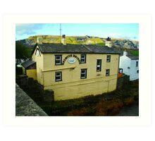 Helwith Bridge Inn Art Print