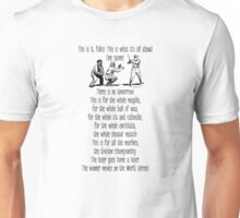 On the road to the World Series Unisex T-Shirt