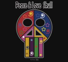Peace & Love Skull by mago