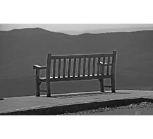 Heavenly Chair Photographic Print