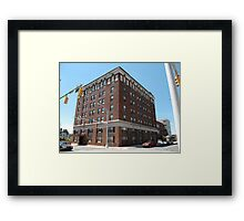 Burlington, North Carolina - Main Street Framed Print