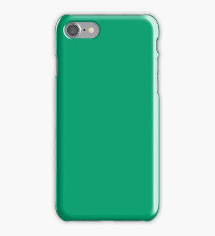 Primary Green  iPhone Case/Skin