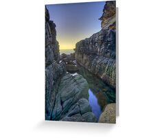 Sydney secret gorge Greeting Card