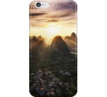 Laozhai Sunset iPhone Case/Skin