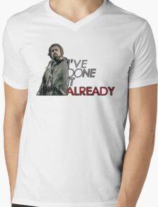 THE REVENANT - LEONARDO DICAPRIO Mens V-Neck T-Shirt