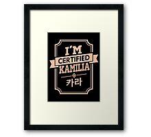 Certified KARA Kamilia Framed Print