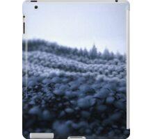 La montagne tricottée - Knitted montain iPad Case/Skin