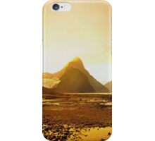 Milford Sound at Sunset iPhone Case/Skin
