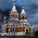 TEMPLE OF CHRIST THE SAVIOR by Angi Baker