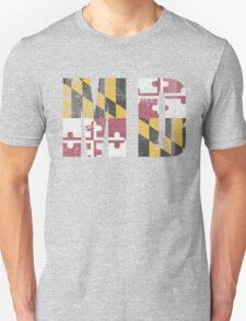 Vintage Maryland MD Flag T-Shirt