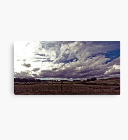 Flowing Clouds Canvas Print