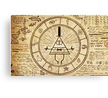 Gravity Falls, Bill Cipher Canvas Print