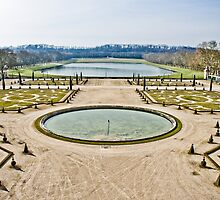 Winter Gardens of Versailles by keyconcept