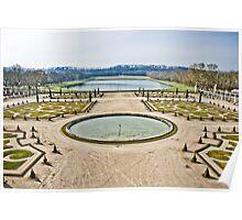 Winter Gardens of Versailles Poster