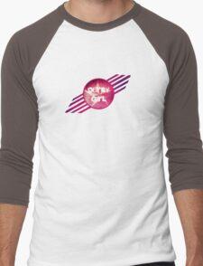 Derby Girl Star Men's Baseball ¾ T-Shirt