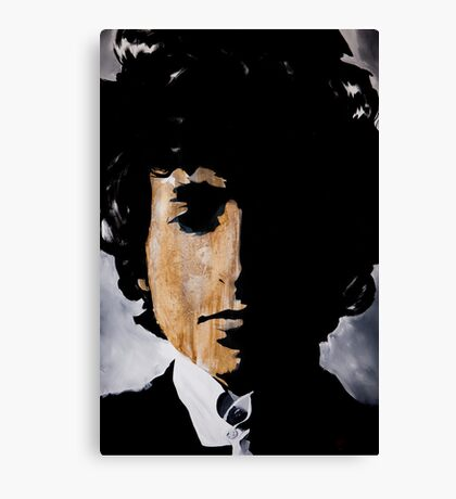 Bob Dylan Born already ruined Canvas Print