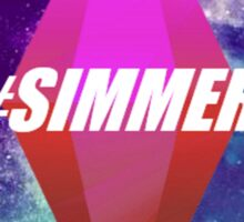 #SIMMER Sticker